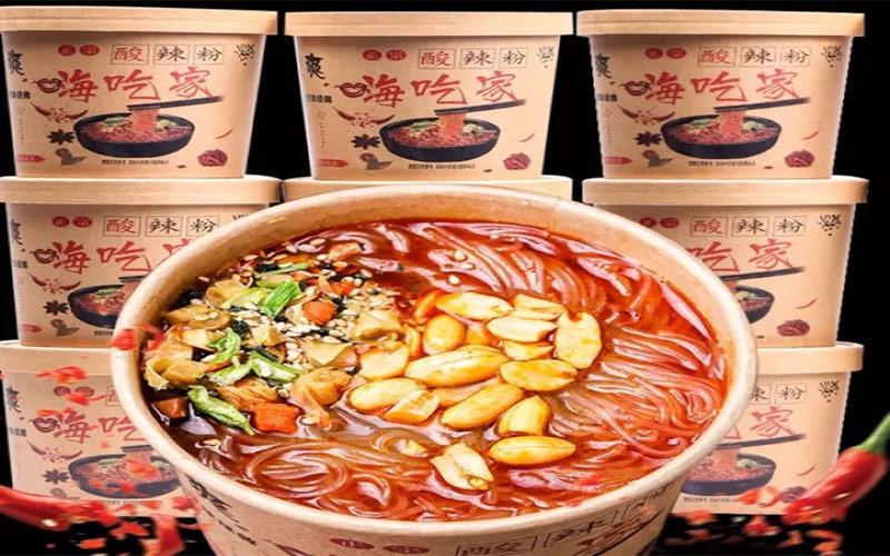 Miến Trùng Khánh là món ăn phổ biến tại Trung QUốc